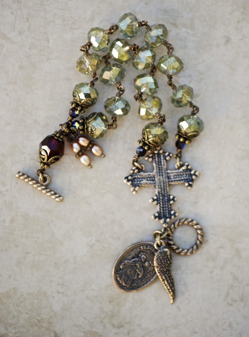 Bracelet of Divine Prayer (Olive)