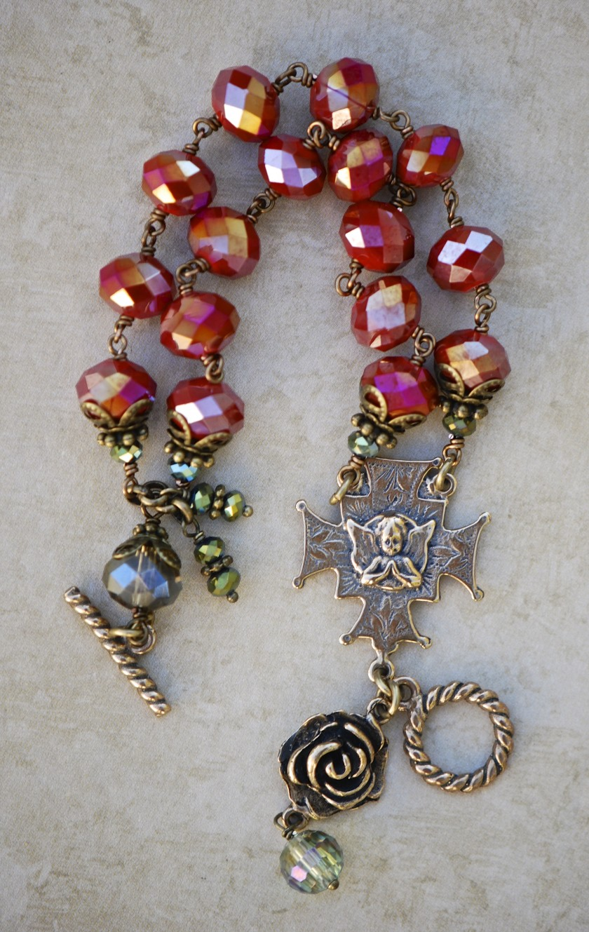 Bracelet of the Holy Angels (Ruby)