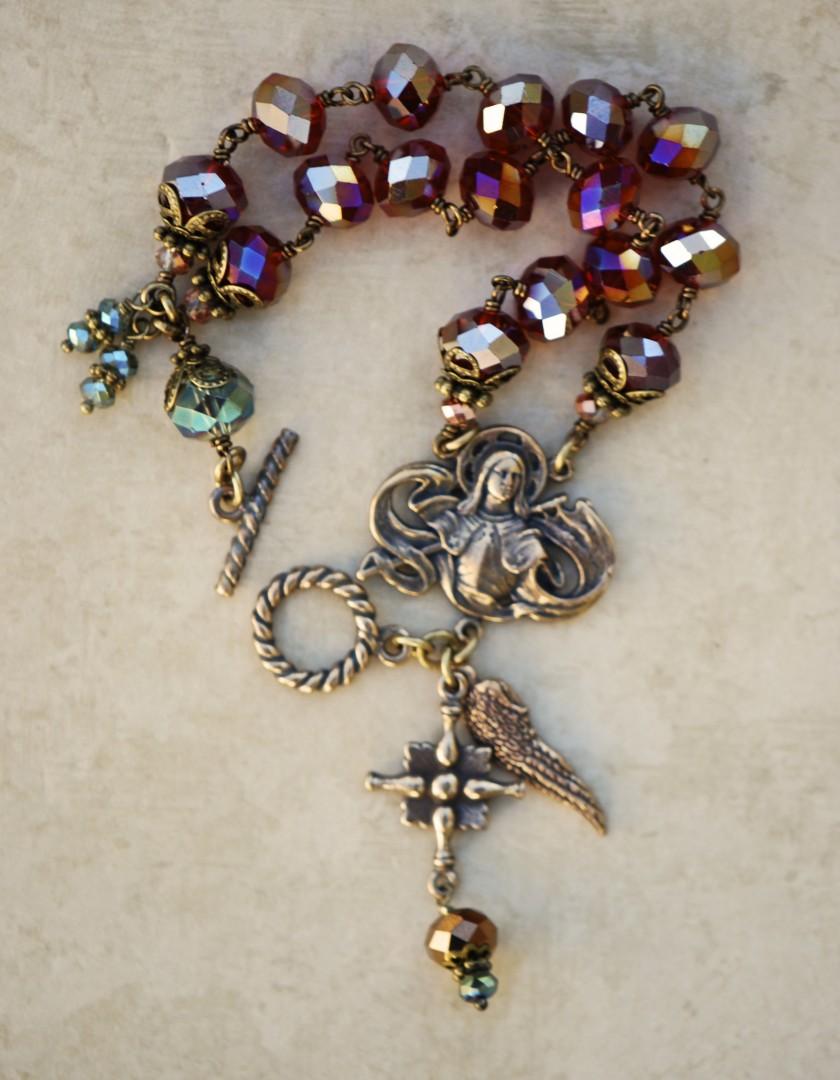 Bracelet of Faith (Ruby)