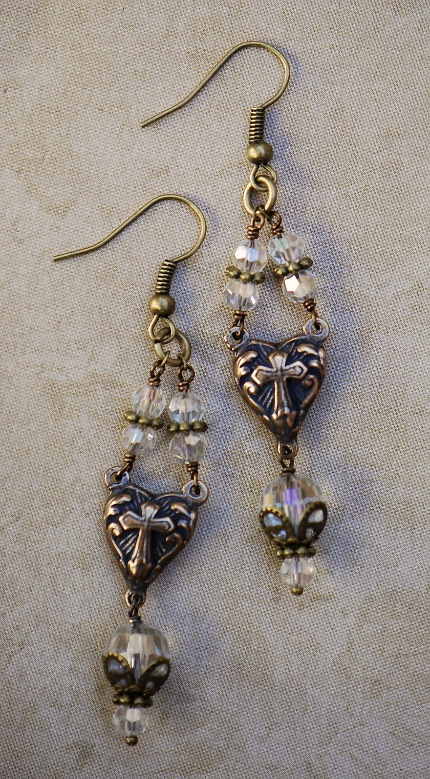 The Seraphym Earrings of Divine Love