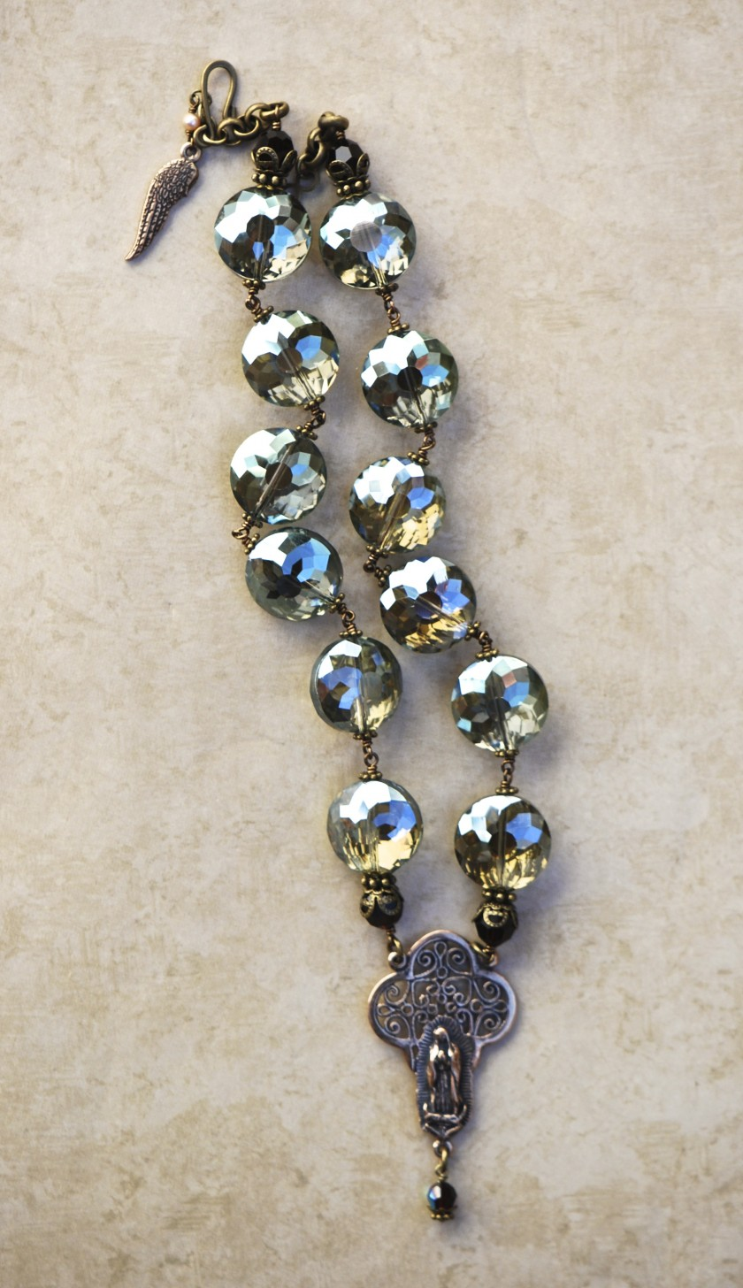 The Seraphym Necklace of Our Lady of Guadalupe