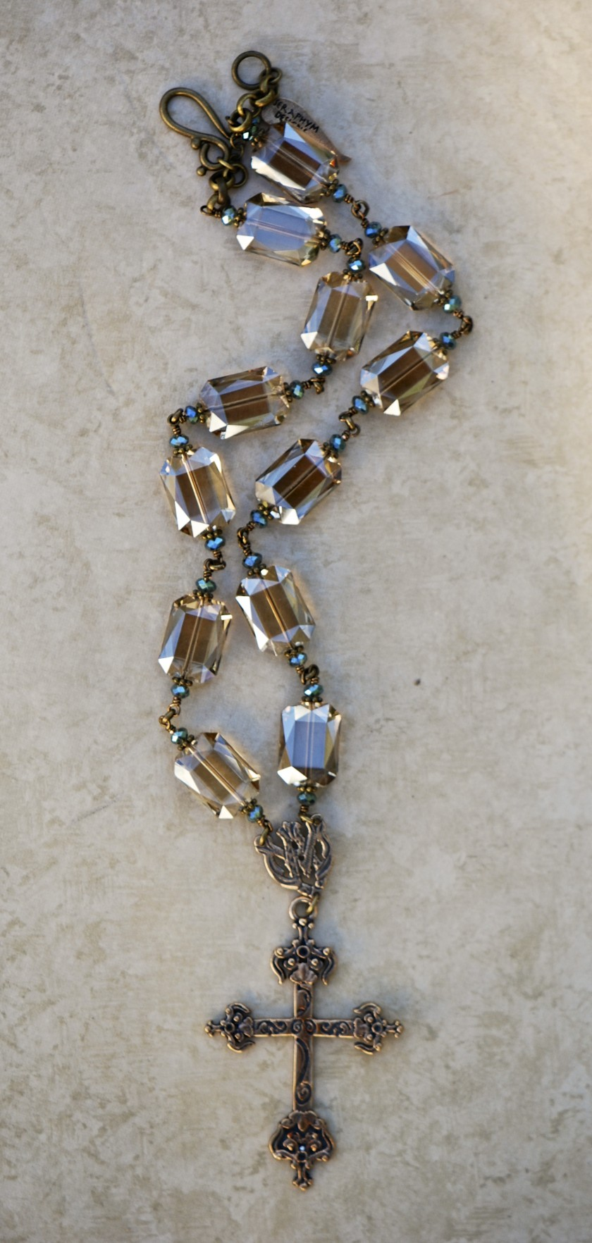 The Seraphym Necklace of the Cross